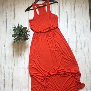 LUSH Racerback Maxi Dress
